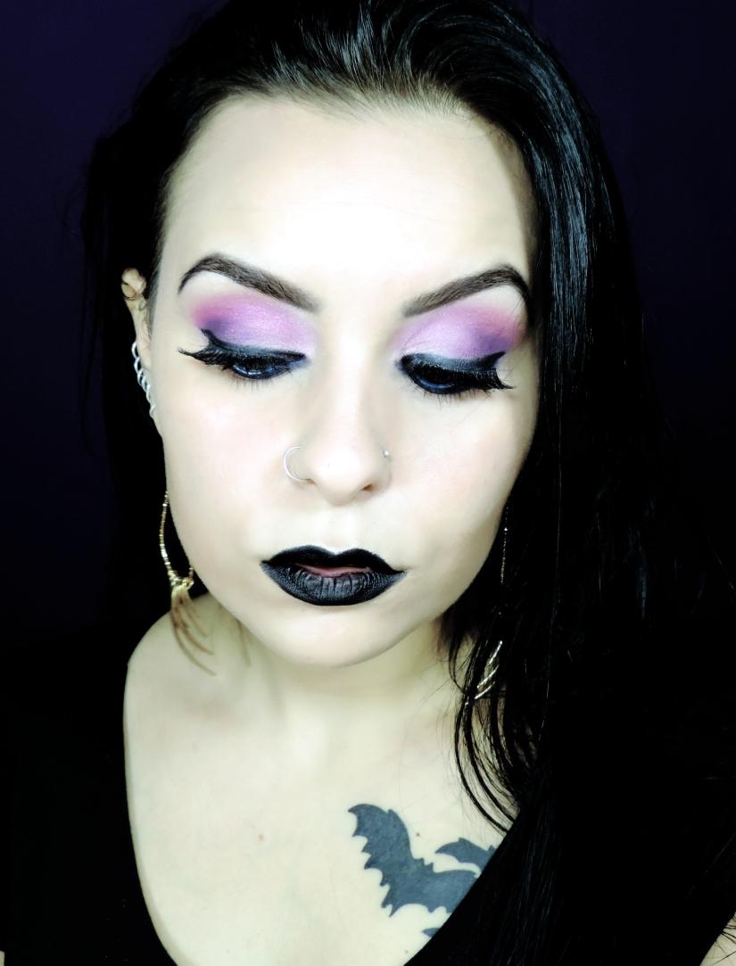 maquiagem rosa batom preto gotica suave 1.jpg